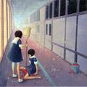 Fuco Ueda - corridor cleaning