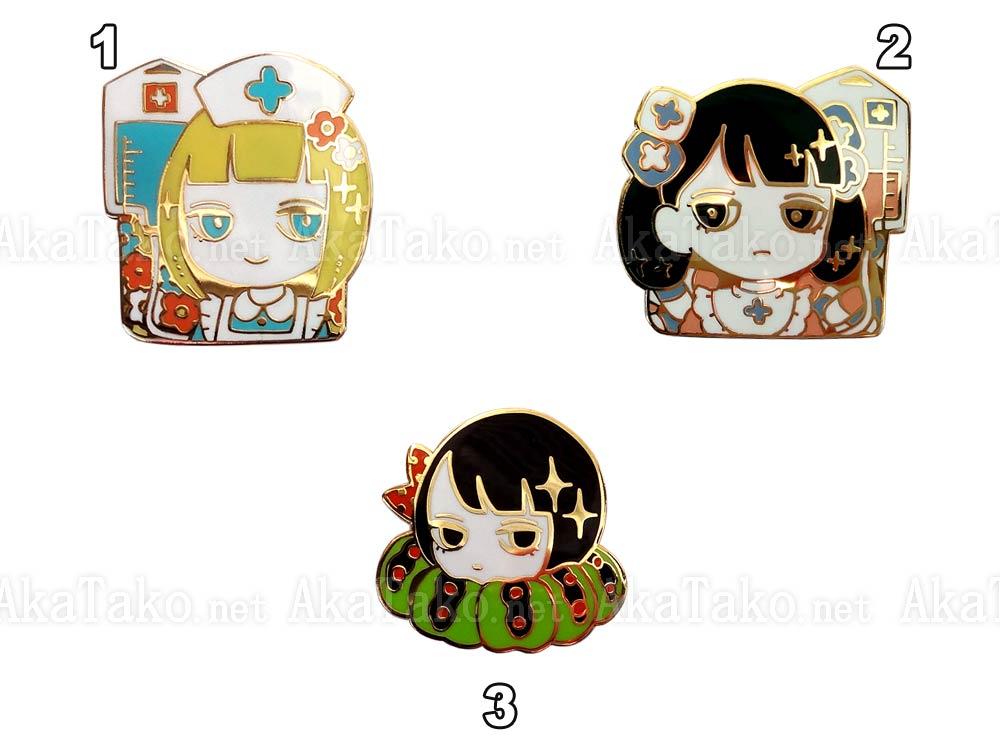 Em Nishizuka Enamel Pins 2