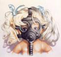 Trevor Brown - Gas Mask Doll