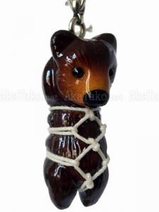 Brown Bear Kinbaku Charm front