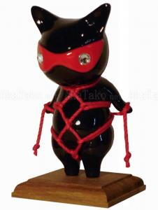 Red Mask Cat Kinbaku Doll