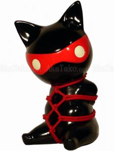Red Mask Cat Kinbaku Bank