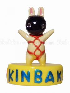 Black Mask Bunny Kinbaku Mini Doll