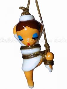 Nurse Lady One Leg Up Kinbaku Charm front
