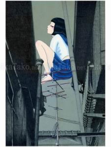 Chika Yamada Cross Talk Original Painting
