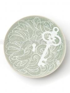 Fuco Ueda Ceramic Snack Plate