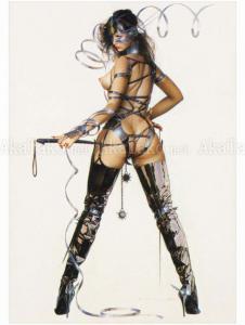 Hajime Sorayama Lithograph Print 6