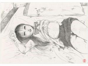 Jun Hayami Original Drawing 1