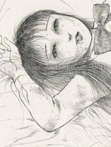 Jun Hayami Original Drawing 1 (detail)