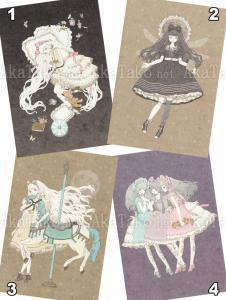 Kira Imai Postcard Group 10