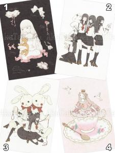 Kira Imai Postcard Group 11
