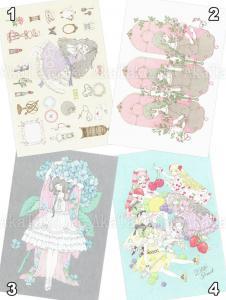 Kira Imai Postcard Group 12