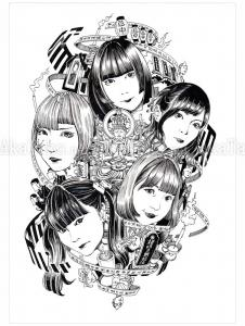 Shintaro Kago Black & White original 17