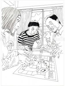 Shintaro Kago Black & White original 20