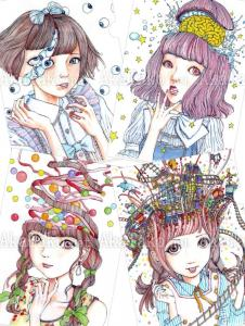 Shintaro Kago Clear File Set of 4