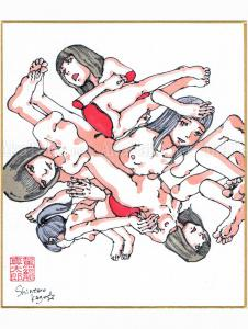 Shintaro Kago Copic Marker Drawing 20