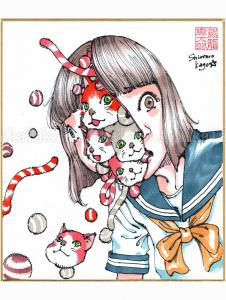Shintaro Kago Copic Marker Drawing 9