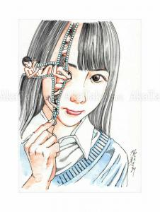 Shintaro Kago Erotic Original Painting 15