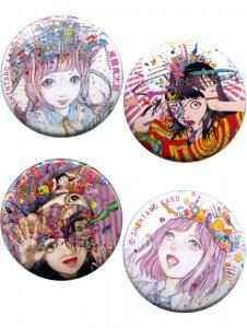 Shintaro Kago Pin Badge Button set