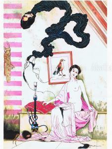 Suehiro Maruo original painting Vampire II