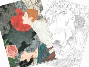 Takato Yamamoto Nosferatu - Joy Clear File - front and back