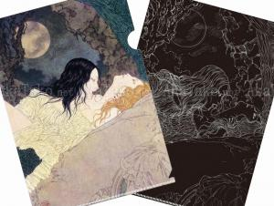 Takato Yamamoto Vampire Fairy Demon Clear File - front and back
