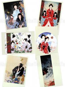 Takato Yamamoto Postcard Set 5 Tale of a Castle Keep