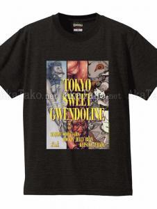 Tokyo Sweet Gwendoline Exhibition t-shirt