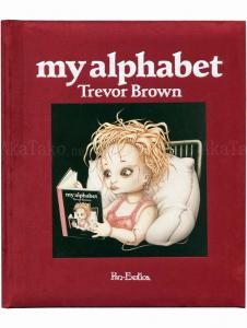 Trevor Brown My Alphabet Plum SIGNED