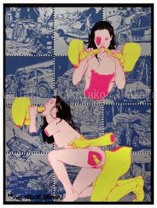 Trevor Brown Crash Babies print 2