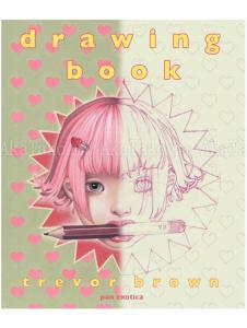 Trevor Brown Drawing Book JP - front cover