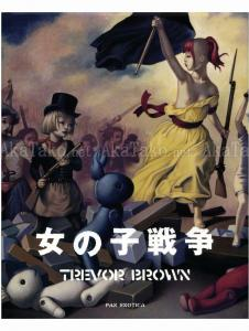 Trevor Brown Girls War SIGNED - front cover