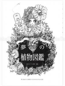 Yoh Monochrome Dream Meal Botanical Picture Book - front cover