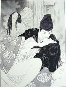 Takato Yamamoto The Pillow Battle at Dannoura original painting
