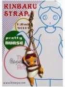 Nurse Lady One Leg Up Kinbaku on display card