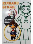 Japanese Schoolgirl Sailor Uniform Kinbaku on display card