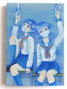 Chika Yamada Mini Original Painting Health