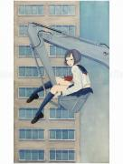Chika Yamada Melts in the Wind Original Painting