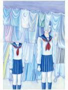 Chika Yamada Moonless Month Original Painting