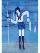 Chika Yamada Red Line Original Painting