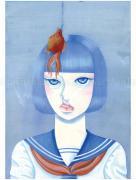 Chika Yamada Show Your Face Original Painting