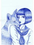 Chika Yamada Together With You Original Painting