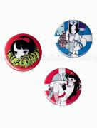 Em Nishizuka Button - Imomafu, Blue Nurse, or Red Nurse