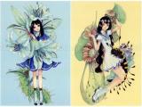 Em Nishizuka Postcard Set - Miniature Garden Specimen