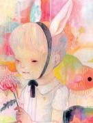 Hikari Shimoda Funeral poster detail