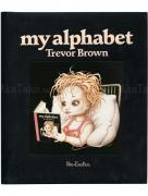 Trevor Brown My Alphabet black cover SIGNED