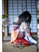 Hajime Kinoko Hanafuda Kinbaku SIGNED - December