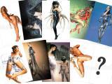 Hajime Sorayama Postcard Set 002