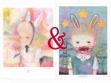 Hikari Shimoda Poster Pair SIGNED