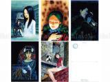 Junji Ito Artwork Postcard Set 1
